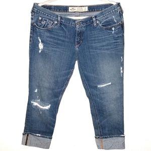 🌈❣️ 2/$20 Hollister Distressed Medium Wash Jeans